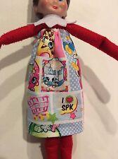 CHRISTMAS ELF TUBE DRESS LONG SKIRT Shopkins Carts Birthday Valentines Girl Doll