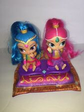 Fisher Price Shimmer And Shine Magic Flying Carpet + 2 Dolls Works