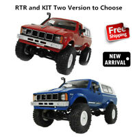 WPL 1/16 4WD 2.4G 2CH Military RC Truck Buggy Crawler Off Road Car RTR DIY KIT