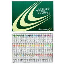 New Kusakabe transparent watercolors 54 colors set 5ml 2 Nos.