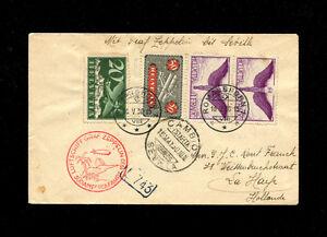 Zeppelin Sieger 57 1930 SOUTH AMERICA Flight SwitzerlandTreaty Dispatch