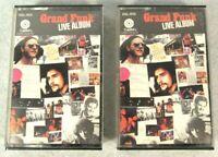 Grand Funk Railroad - Live Album (Double Cassette) Rare VGUC Capitol Tape