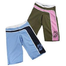 New Ladies Womens Long Bermuda Board Swim Shorts Pants, Sizes S,M,L,XL