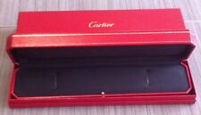 CARTIER : GRAND BOX BOITE ECRIN POUR BRACELET PLAT FLAT Or / Ou Watch Montre