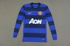 2011-2013 nike Manchester United Long Sleeve Away Shirt SIZE S (adults)