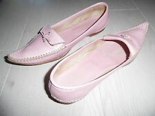 Chaussures cuir couleur rose pointure 37.5