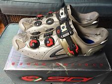 SIDI Road Bike Cycling   Shoes SIZE 47 Silver US 12