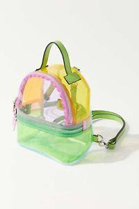 Colorblock Transparent Backpack