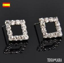 Pendenti diamanti strass argento