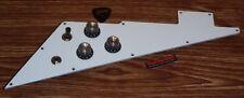 Gibson Flying V Pickguard Loaded Pot Genuine HP White 4Ply Guitar Parts Custom X