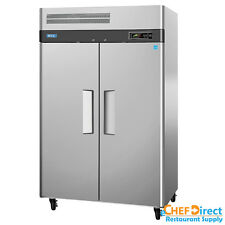 "Turbo Air M3R47-2 52"" Double Door Reach-In Refrigerator"