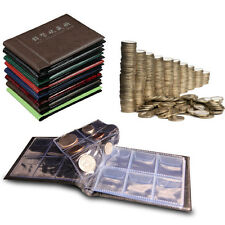 60 Coins Album Coin Money Penny Collecting Book Holders Collection Storage