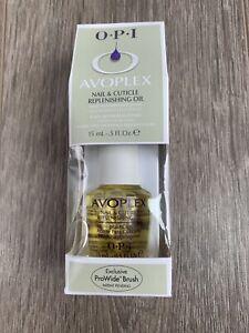 OPI Avoplex Nail and Cuticle Replenishing Oil 15ml BNIB From QVC