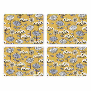 Retro Meadow Set of 4 Placemats from Cooksmart