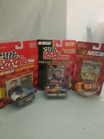 A LOT OF 3  Racing Champions 1997 EDITION 2002 NASCAR COLLECTOR SERIES