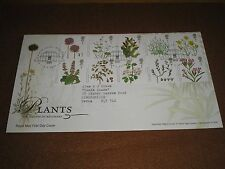 "2009 GB Stamps "" PLANTS "" First Day Cover KEW - RICHMOND Cancels - FDC"