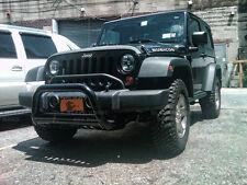 Black Horse 11-18 Jeep Wrangler JK Black Bull Bar Bumper Guard BBJPWR11A-SP