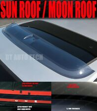 "35.5"" Universal Deflector Sunroof Sun Moon Roof Visor Vent Wind Rain Guard Somke"