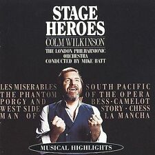 Stage Heroes by Colm Wilkinson (CD, Mar-1995, RCA)