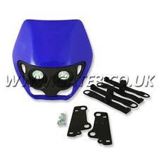 Apico Alien Style YZ Blue Universal Twin Headlamp Enduro Supermoto Headlight