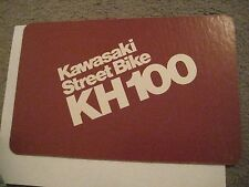KAWASAKI KH100 DEALER SALES DISPLAY CARD/SIGN