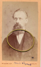 Berlin, Kgr. Preußen, Herr Dingwerth als junger Mann mit Bart, CDV, 1860er
