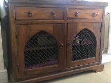 Solid wood sideboard unit, Cupboard. Thakat Indian style. Living room/hallway.