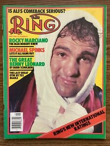 The Ring magazine boxing, May 1980, Rocky Marciano