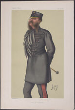 Vanity Fair - Col Lewis Guy Phillips. 717 - 1880 - Colored Lithograph Original