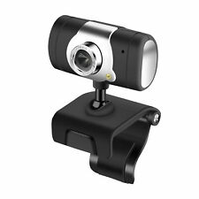 HD! 12MP Webcam Web Camera Built-in Mic / USB / LED For Mac Windows Laptop PC