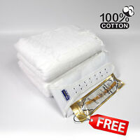 2 Piece Cotton Ihram Ehram Ahram White Towel Adult Cloth + Waist Belt Hajj Umrah