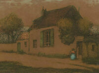 Jean Charles Millet (1892-1944) - Early 20th Century Etching