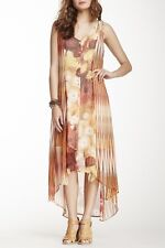 Da-Nang Boheme Sheer Sleeveless Silk Dress S NWT $228