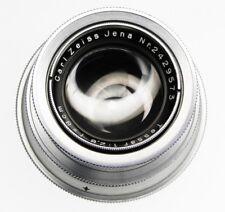 Carl Zeiss Jena 8cm f2.8 Tessar for Prewar Exakta 66 mount  #2429573