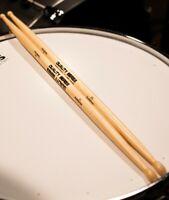 Drum sticks 5a nylon tip