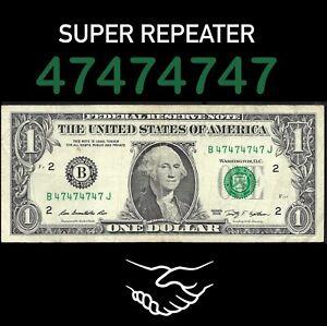 Fancy Serial number bill, BINARY /  SUPER REPEATER