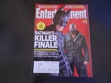 Christian Bale, Christopher Nolan - Entertainment Weekly Magazine 2012