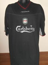 Liverpool Away Football Shirt Jersey (2002/2003) xxl men's #604