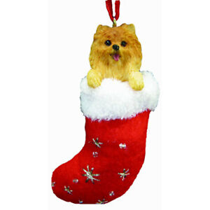 Pomeranian Santa's Little Pals Ornament