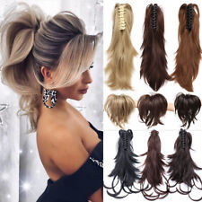 Clip - in Short Wavy Hair Extensions for