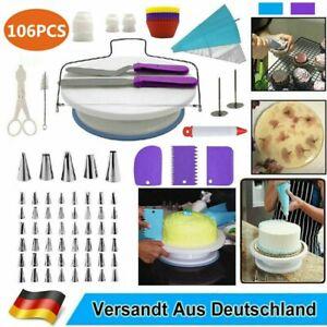 Tortenplatte Drehbar Tortenständer Kuchen Drehteller Cake Decorating Turntable