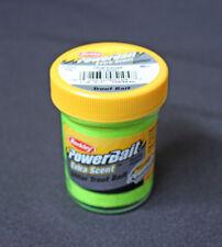 BERKLEY Powerbait Forellenteig Bait Natural Extra Scent Glitter 50g AUSWAHL