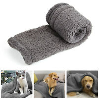 Extra Large Soft Cosy Warm Fleece Pet Dog Cat Animal Blanket Throw 80 x 100cm UK