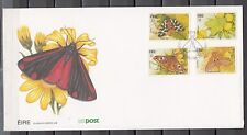 Ireland, Scott cat. 931-934. Butterflies issue on a First day cover.