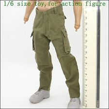 L19-12 1/6 scale Green multi-function tactical pants