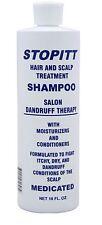 Stopitt Hair - Scalp Treatment Shampoo, 16 oz