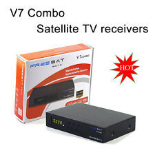 Freesat V7 Combo DVB S2 T2 HD 1080P receptor de TV satelital openbox decodificador más reciente