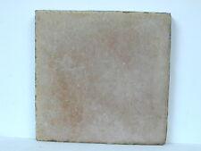 "1894 - 1909 Greuby 6"" x 6"" Glazed Art Tile In Tannish Beige"