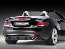 Mercedes R172 SLC Piecha RS Rear Diffuser insert & tailpipes AMG Line and SLC43