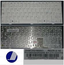 Clavier Qwerty NE Nordic PB Easy Note BG45 BG46 V021562EK1 004GNQV2KND00 Blanc